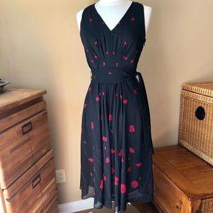 Anne Klein Black/Red Dress